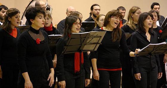 Ensayos coro enarmonía